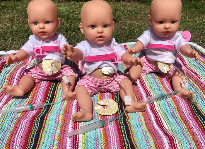 Mom Starts Making Inclusive Dolls After She Couldn't Find Any With Hearing Aids For Her Deaf Daughter
