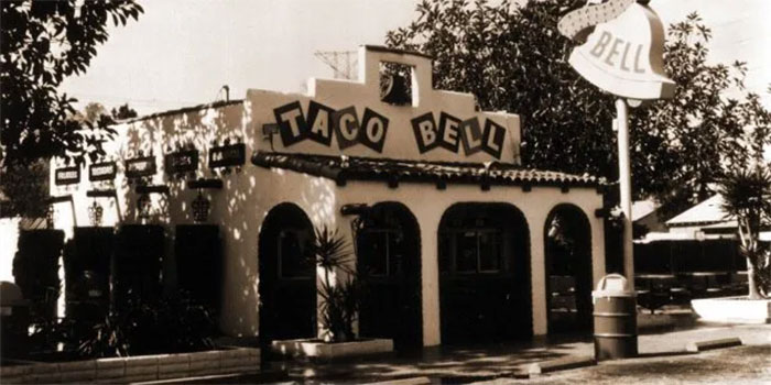Taco Bell, 1962