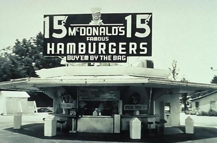 Mcdonald's, 1940