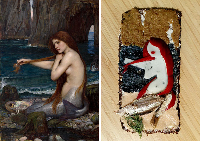 John William Waterhouse - 'Mermaid' (1901)