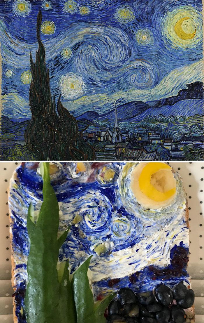 Vincent Willem Van Gogh - 'Starry Night' (1889)