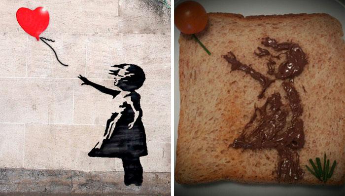 Banksy - 'Girl With Balloon' (2002)