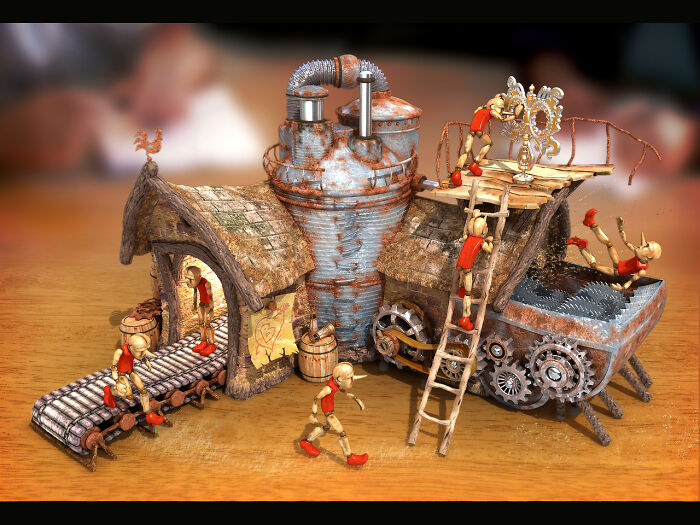 """Winner Of The Contest """"The Clockwork Toy"""" (2006)"""