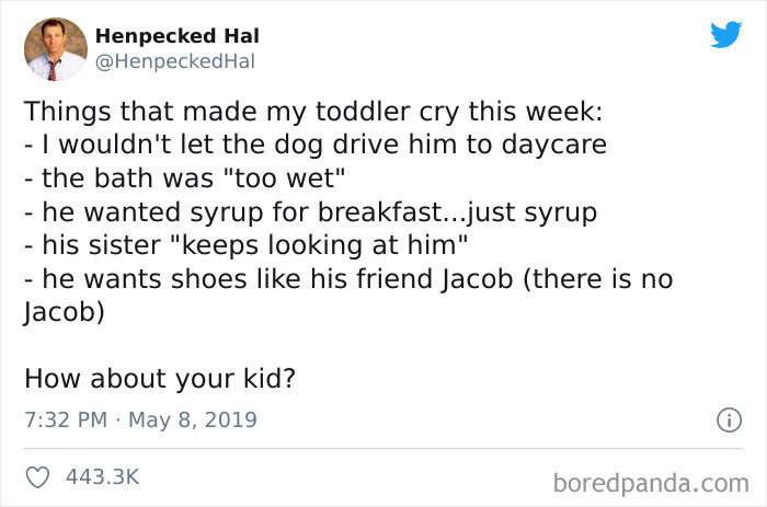 Parents Are Sharing The Most Absurd Things That Made Their Kids Cry (42 Tweets) 3