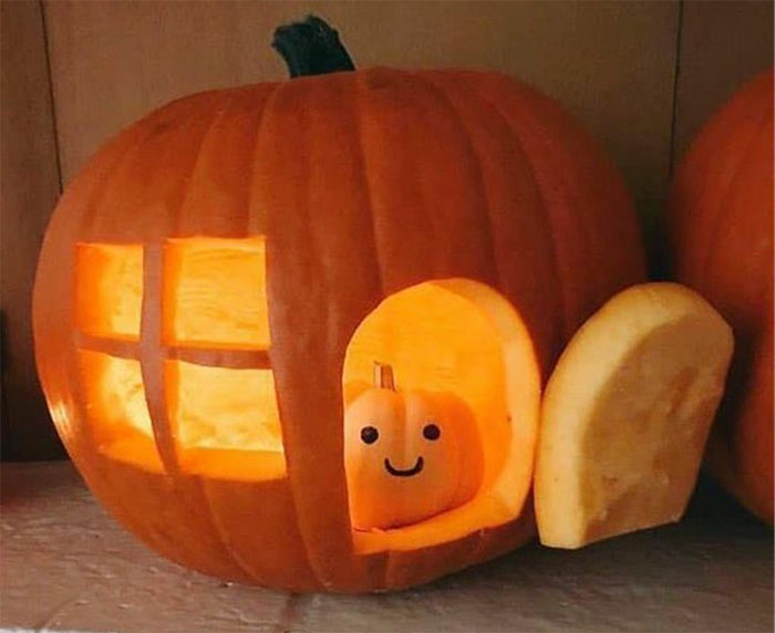 Hey Pandas, Did You Carve A Pumpkin For Halloween? Show Us! (Ended)