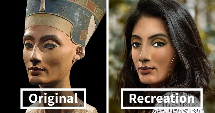 Here's What Nefertiti And Other Historical Figures Would Look Like Today (25 New Pics)