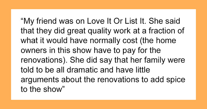 27 People Who Participated In Home Renovation Shows Share How It All Went After The Show Was Over
