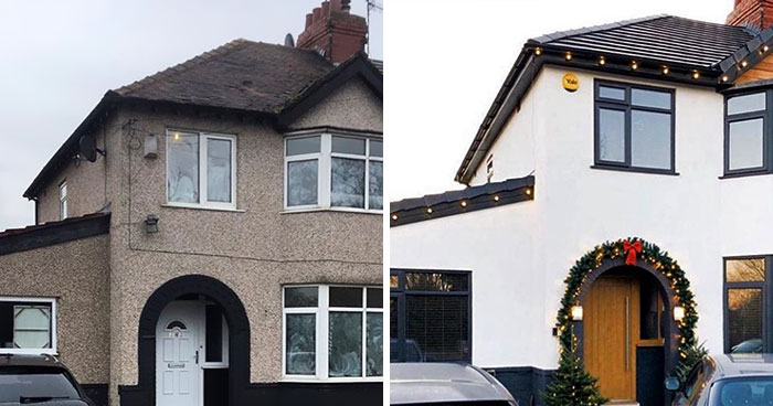 Mom Turns An Old Semi Into A Dream Home, Increasing Its Value By £110,000