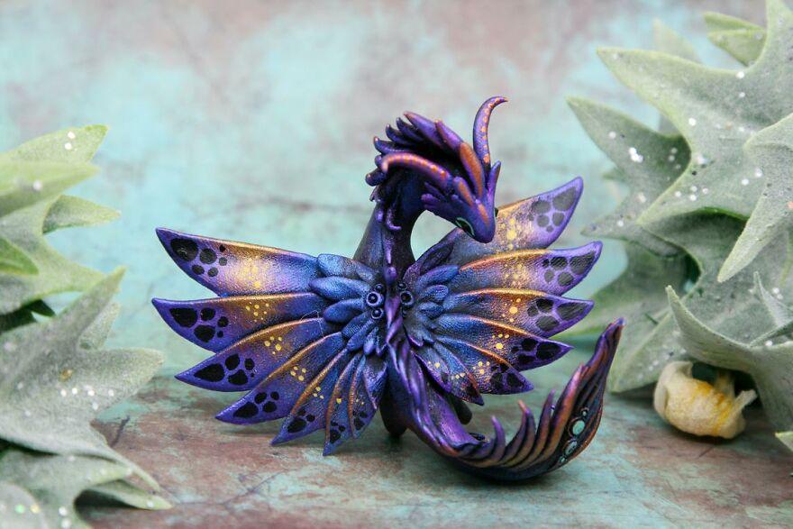 Dark Butterfly Dragon