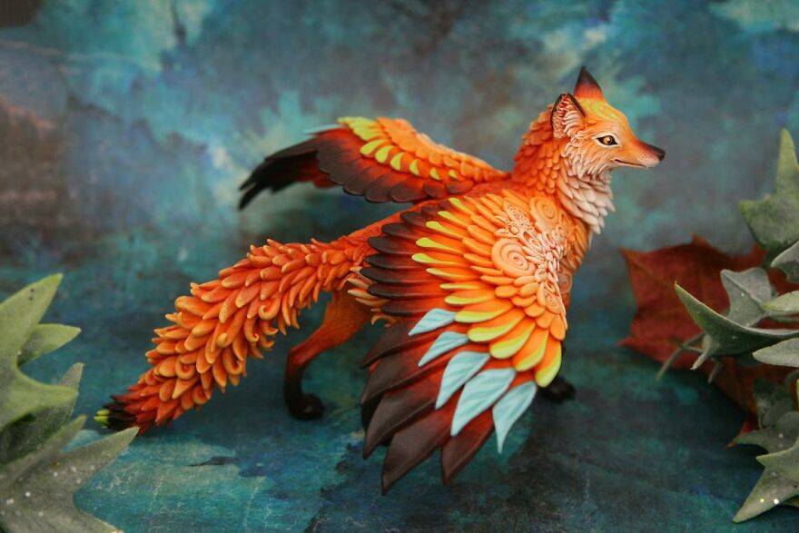 Winged Red Fox