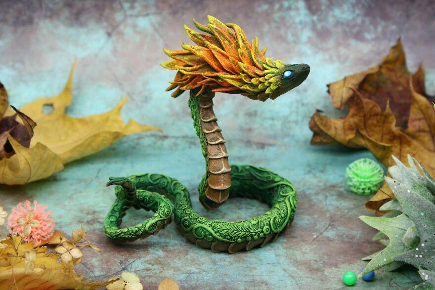 Maned Snake Dragon