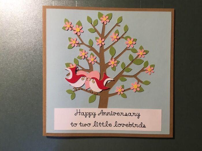 Anniversary Card I Made