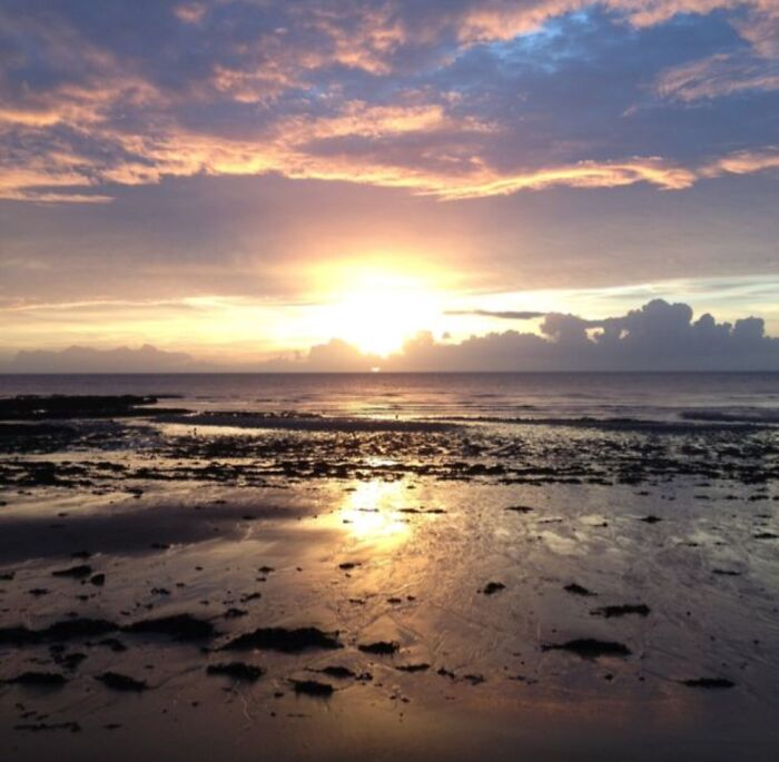 Early Morning Dog Walks Mean Great Sunrises (Beach In Kent)