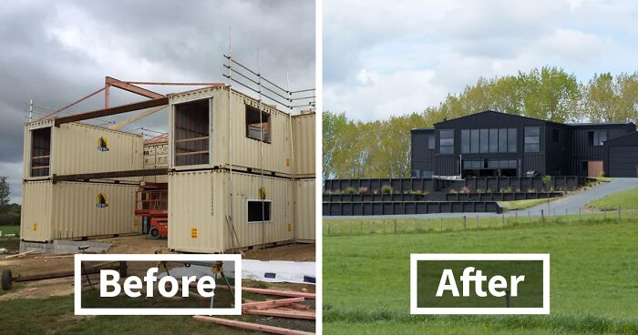 This House Was Built Out Of 12 Shipping Containers And Both The Interior  And Exterior Look Stunning | Bored Panda
