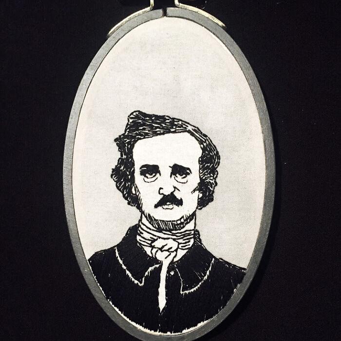 I Embroidered Edgar Allan Poe