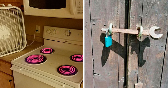 40 Times People Had Such 'Genius' Solutions To Various Problems, They Got Posted On 'Redneck Engineering'