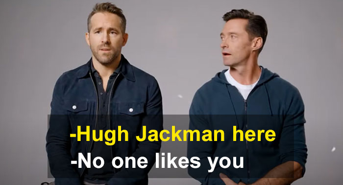 Ryan Reynolds And Hugh Jackman Reignite Their 'Feud' And It is All For Charity