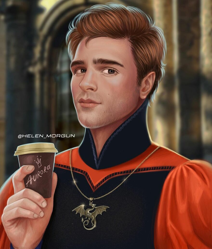 Jacob Elordi As Prince Philip From Sleeping Beauty