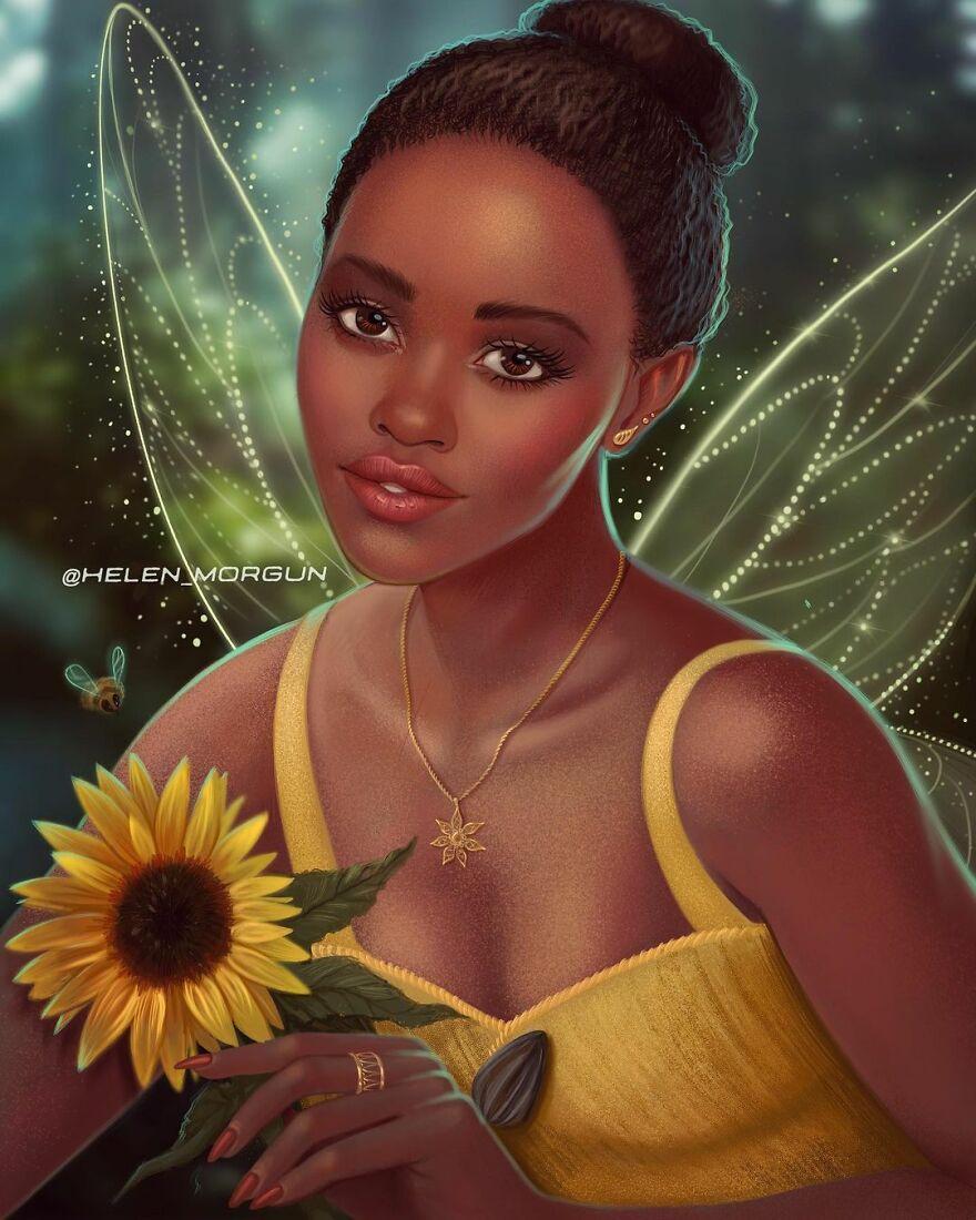 Lupita Nyong'o As Iridessa
