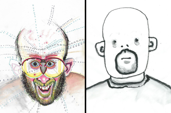 Artist Takes A Different Drug Every Day And Draws A Self-Portrait Under The Influence, Suffers Brain Damage (30 Pics)