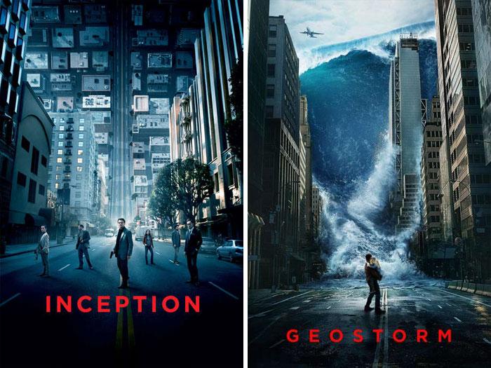 Inception (2010) vs. Geostorm (2017)