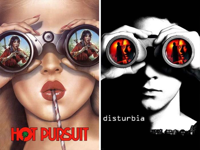 Hot Pursuit (1987) vs. Disturbia (2007)