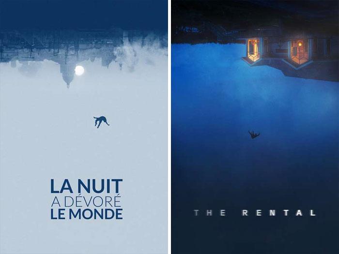 The Night Eats The World (La Nuit A Dévoré Le Monde) (2018) vs. The Rental (2020)