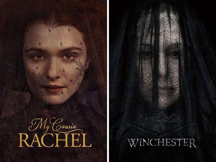 My Cousin Rachel (2017) vs. Winchester (2018)