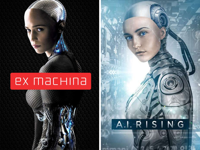 Ex Machina (2014) vs. A.i. Rising (2018)
