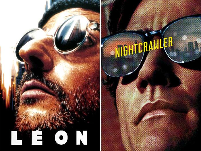 Léon: The Professional (1994) vs. Nightcrawler (2014)