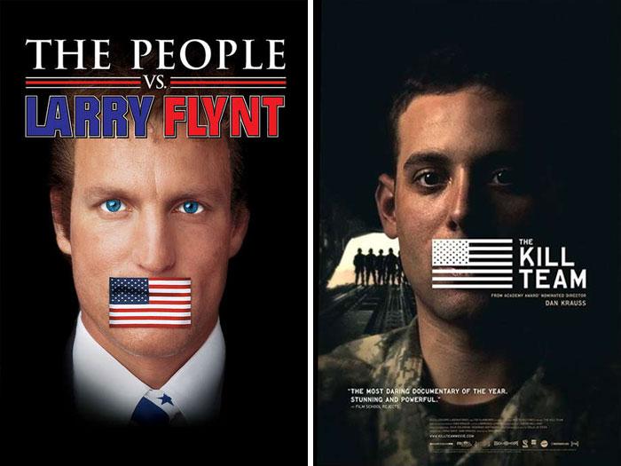 The People vs. Larry Flynt (1996) vs. The Kill Team (2013)