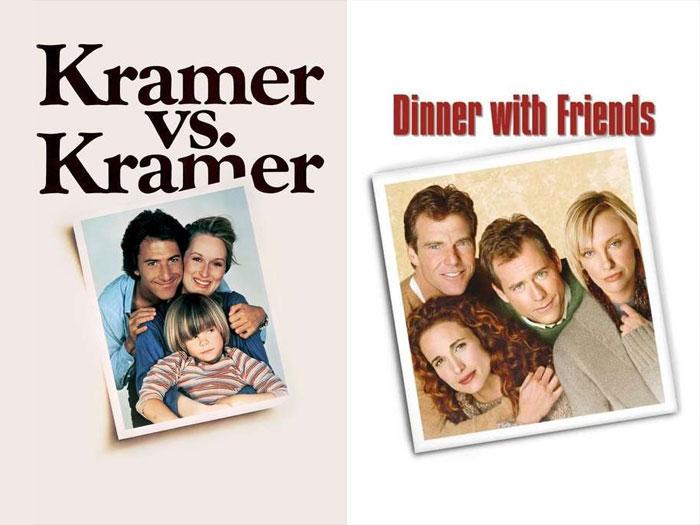 Kramer vs. Kramer (1979) vs. Dinner With Friends (2001)