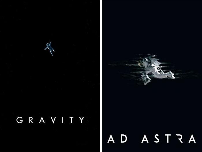 Gravity (2013) vs. Ad Astra (2019)