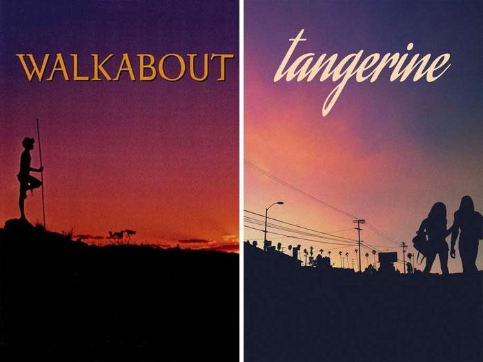Walkabout (1971) vs. Tangerine (2015)