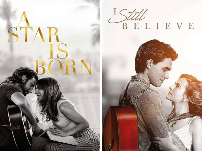 A Star Is Born (2018) vs. I Still Believe (2020)
