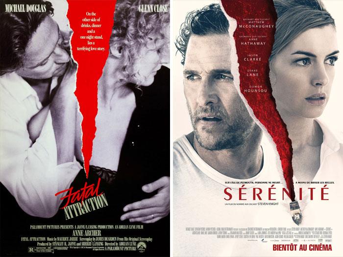Fatal Attraction (1987) vs. Serenity (2019)