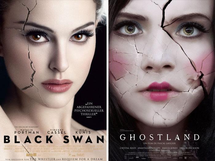 Black Swan (2010) vs. Ghostland (2018)