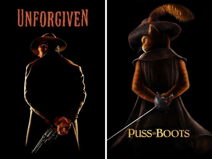 Unforgiven (1992) vs. Puss In Boots (2011)