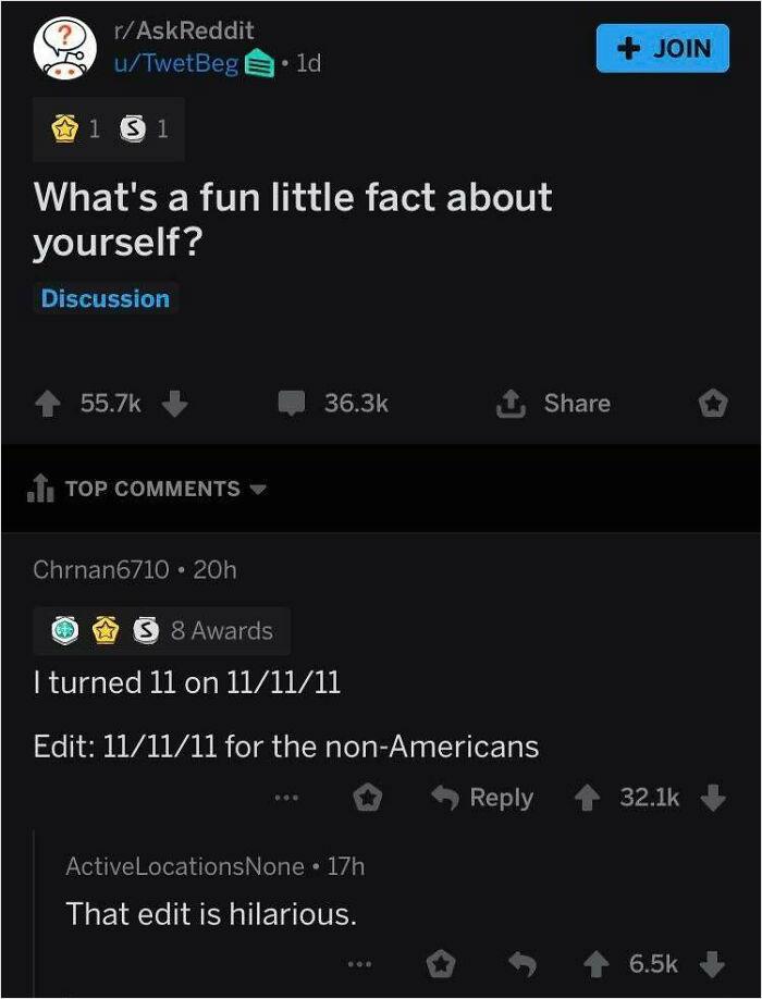 Amazing Comment