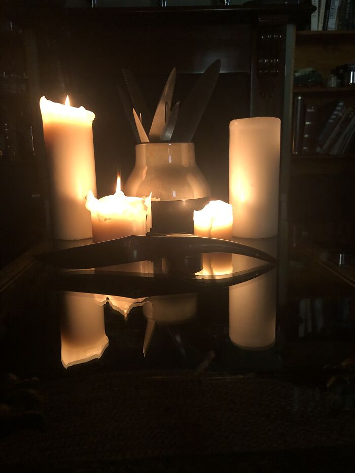 Romantic Candlelit Dinner~ Gone Bad.