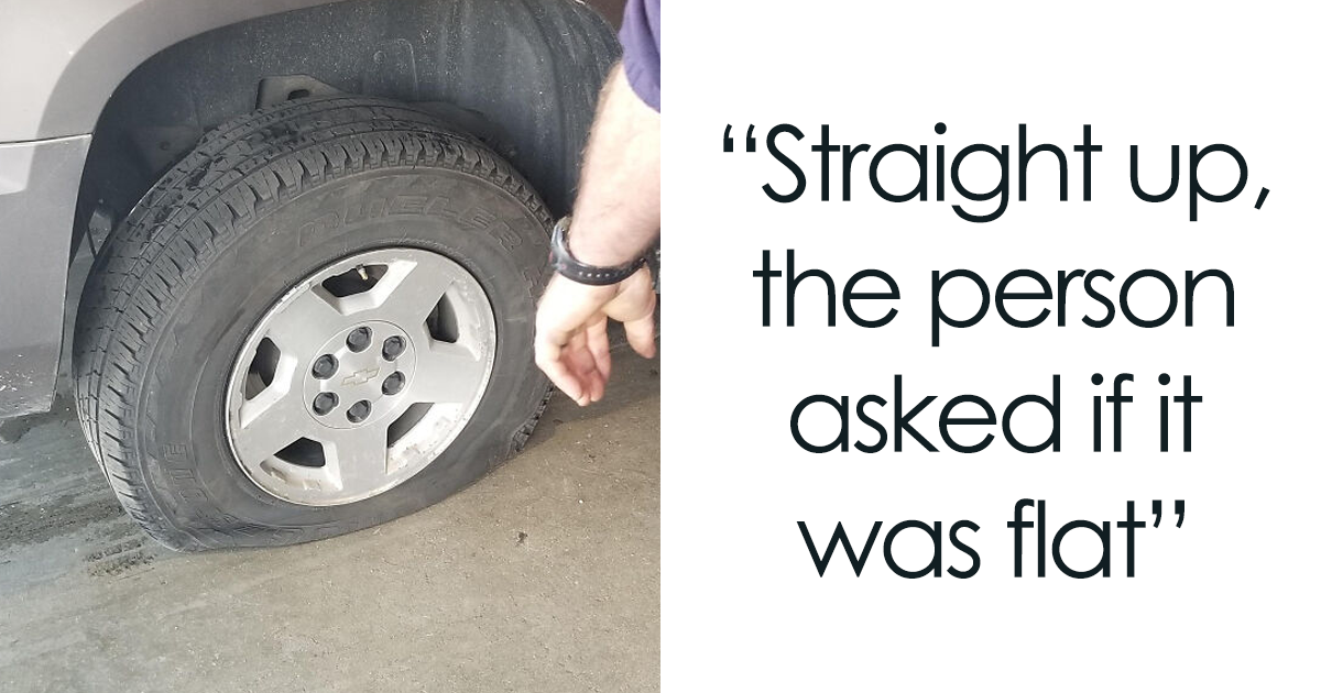 Tire Shop Employee Shares The Crazy Things He Has Seen On Job, Goes Viral (28 Pics)