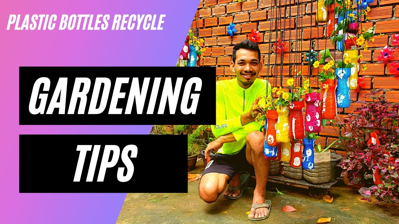 Awesome Ideas | How To Make Spiral Hanging Pots Garden With Plastic Bottles Garden Ideas