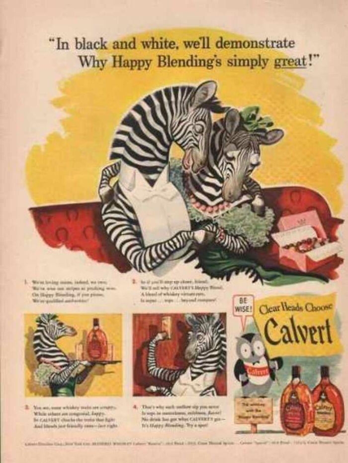 Happy, Drunk, Anthropomorphic Zebras In Love...