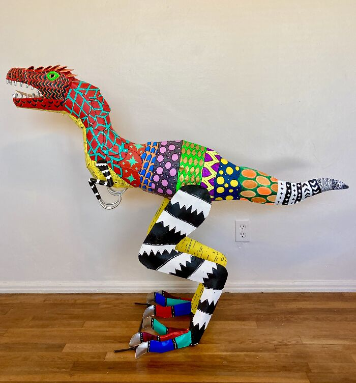 Alebrije Velociraptor
