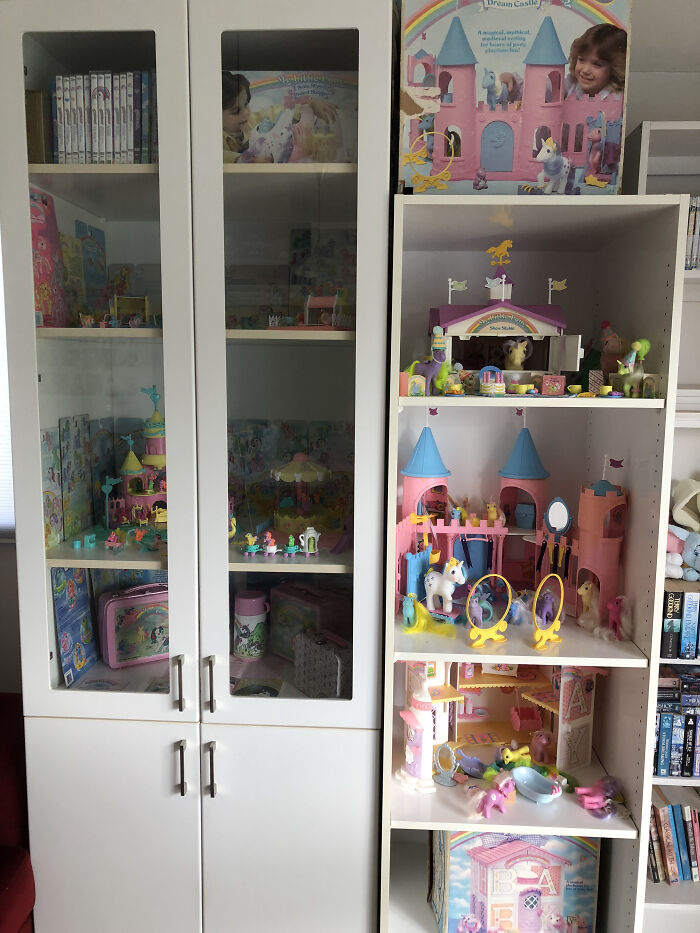 Original 1980s G1 My Little Ponies, Their Accessories And Merch