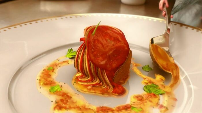 The Ratatouille That Rémy Prepares Was Designed By Chef Thomas Keller. It's A Real Recipe. It Takes At Least Four Hours To Make