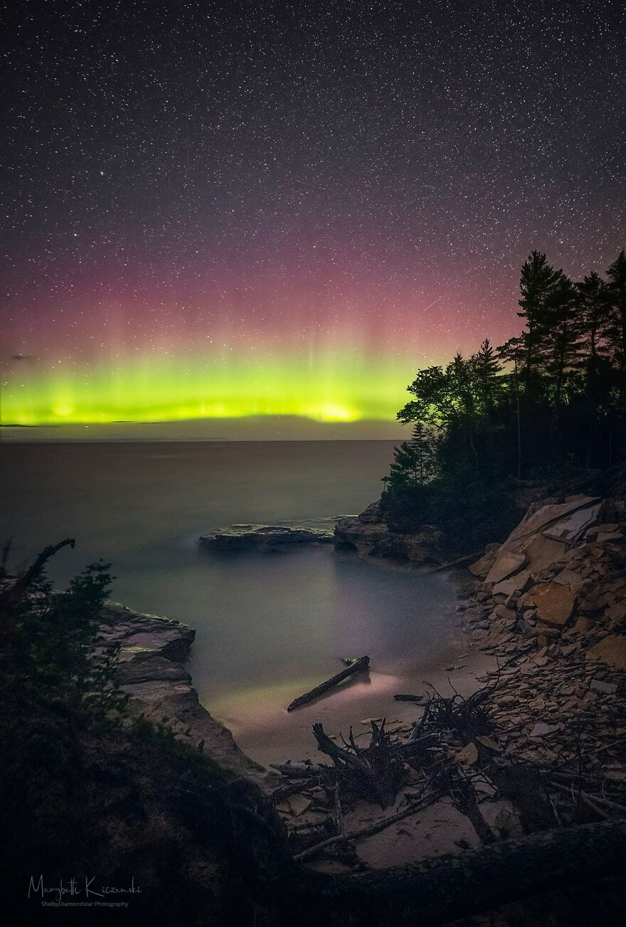"""Pictured Rocks Magic"" By Marybeth Kiczenski"