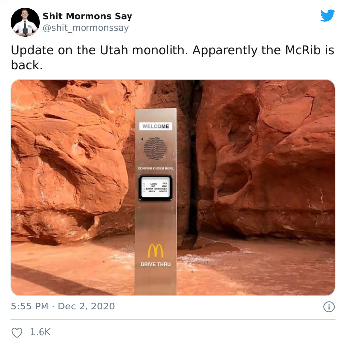 30 People Are Sharing Hilarious Memes Following The 3rd Apparition Of The  Mysterious Monolith | Bored Panda