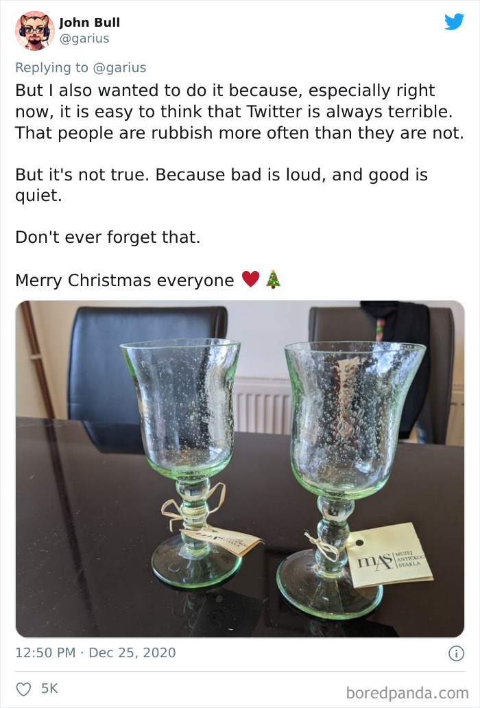 Guy Can't Replace Wife's Exclusive Broken Glassware Bought Abroad, Good Samaritans On Twitter Make It Happen