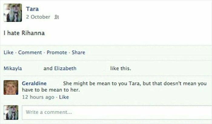 I Don't Think Grandma Knows Who Rihanna Is